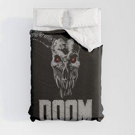 Doom - Icon of Sin Duvet Cover