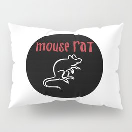 Mouse Rat Pillow Sham