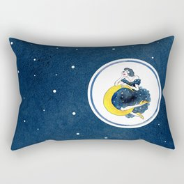 Estas En La Luna Rectangular Pillow
