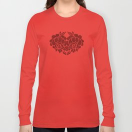 roses heart Long Sleeve T-shirt