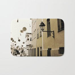 signs in the sky Bath Mat