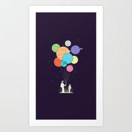 Space Gift Art Print