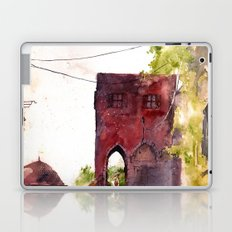 Rhodes old town streets Laptop & iPad Skin
