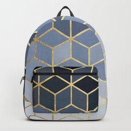 Colorful and golden pattern I Backpack