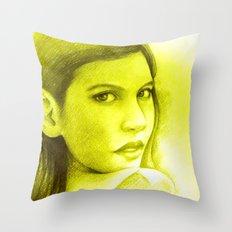 FACE TO FACE Throw Pillow