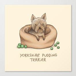 Yorkshire Pudding Terrier Leinwanddruck
