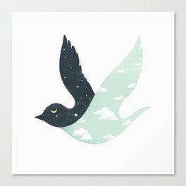 Bipolar Bird Canvas Print