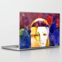 madonna Laptop & iPad Skins featuring Lady Madonna by Ecsentrik