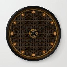 Maya pattern 6 Wall Clock