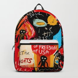 We're the children of freedom Backpack