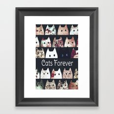 cat-921 Framed Art Print