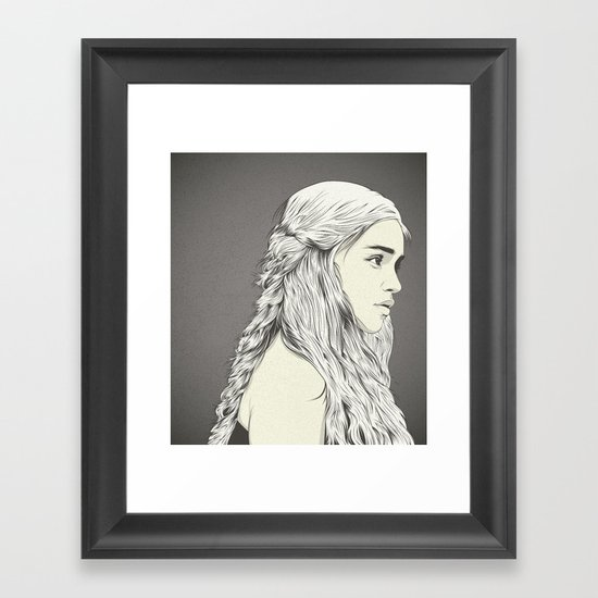 D T Framed Art Print