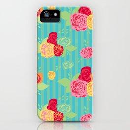 Rose Stripe iPhone Case