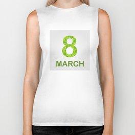 International Women's Day - March 8 Biker Tank