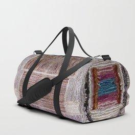 3D Leather carpet texture Duffle Bag