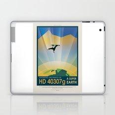 HD 40307 g - NASA Space Travel Poster Laptop & iPad Skin