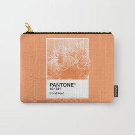 Pantone Series – Coral Reef Carry-All Pouch