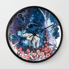 Elephant Totem Wall Clock