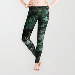 Forest Textures Leggings