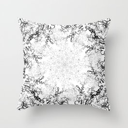 Synesthesia: Bad at Love (Halsey) Throw Pillow
