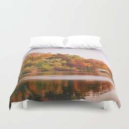 Autumn Colors Are the Best Colors - New York City Duvet Cover