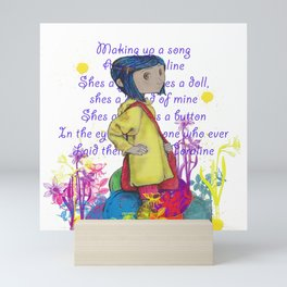 Song About Coraline Mini Art Print