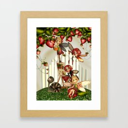 To Paint A Summers Day Framed Art Print
