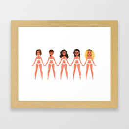 Clone Club Framed Art Print