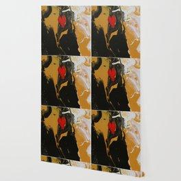 Gilded Heart Wallpaper