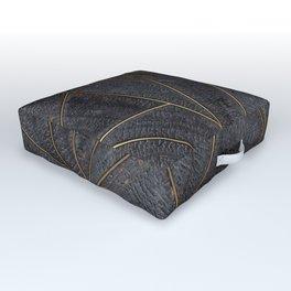 Nordic Yakisugi Square Outdoor Floor Cushion
