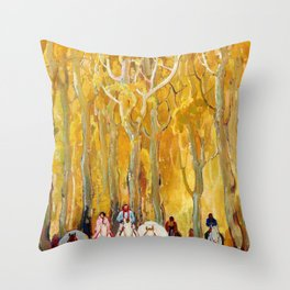 Glorietta - William Herbert Dunton Throw Pillow