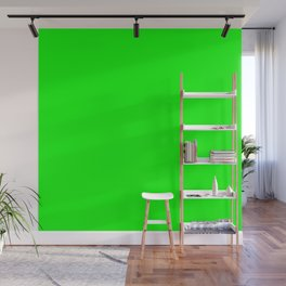 SOLID PLAIN UFO GREEN  WORLDWIDE TRENDING COLOR / COLOUR Wall Mural