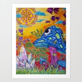 Enchanted Garden (Gallery Edition) Art Print