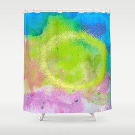 Splats Shower Curtain