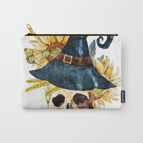 Skull 05 Carry-All Pouch