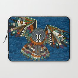 night owl blue Laptop Sleeve