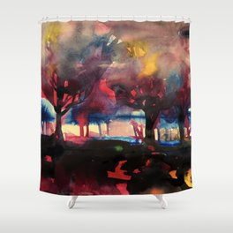 moodscape Shower Curtain