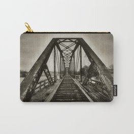 Across The Brazos Carry-All Pouch