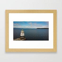 Baby Lighthouse Framed Art Print