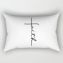Faith Cross Rectangular Pillow