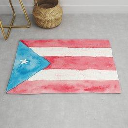 Puerto Rico Watercolour Rug
