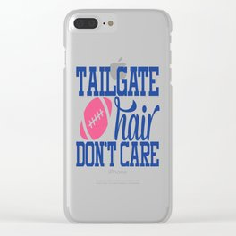 Tailgate Hair Clear iPhone Case