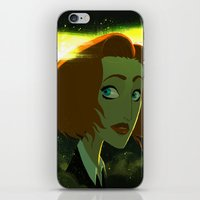 scully iPhone & iPod Skins featuring Scully  by Annalisa Leoni