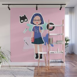 Enid from Ghost World Wall Mural