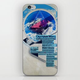 Olympus Mons - Exploration #3 iPhone Skin