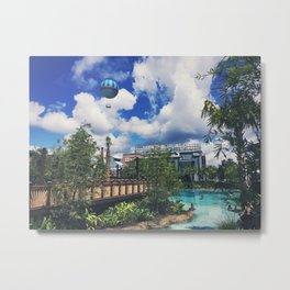 The Springs Metal Print