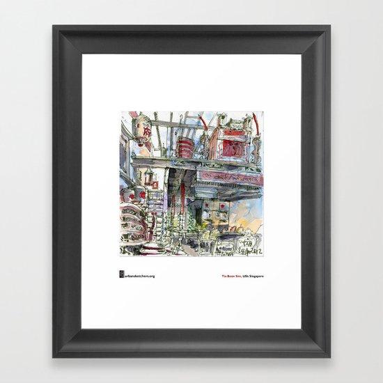 "Tia Boon Sim, ""The Intan, Singapore"" Framed Art Print"