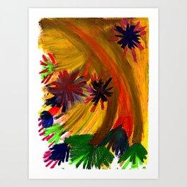 Improvisation #74 Art Print