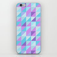 skyline iPhone & iPod Skins featuring skyline by Aneela Rashid