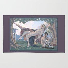 Dionysus and Satyr Rug